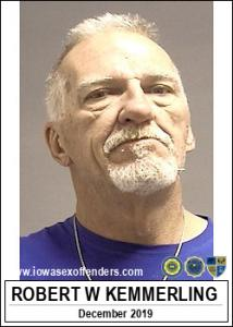 Robert William Kemmerling a registered Sex Offender of Iowa
