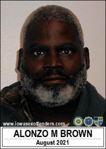 Alonzo Morman Brown a registered Sex Offender of Iowa