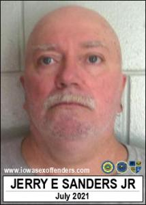 Jerry Erwin Sanders Jr a registered Sex Offender of Iowa