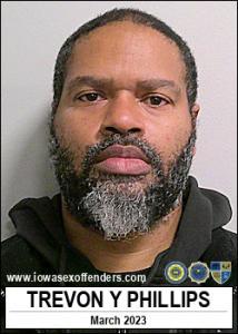 Trevon Yves Phillips a registered Sex Offender of Iowa