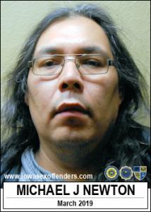 Michael Joseph Newton a registered Sex Offender of Iowa