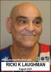 Ricki Kevin Laughman a registered Sex Offender of Iowa