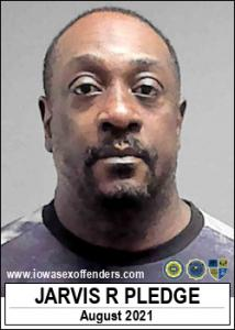 Jarvis Ray Pledge a registered Sex Offender of Iowa