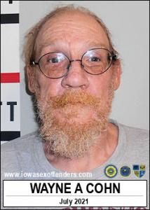 Wayne Alan Cohn a registered Sex Offender of Iowa
