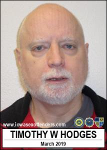 Timothy William Hodges a registered Sex Offender of Iowa