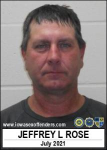 Jeffrey Lee Rose a registered Sex Offender of Iowa