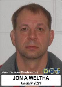 Jon Andrew Weltha a registered Sex Offender of Iowa