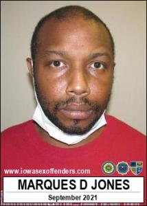 Marques Dean Jones a registered Sex Offender of Iowa