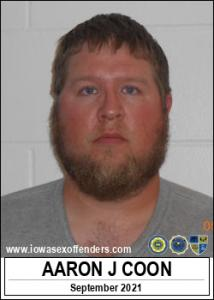 Aaron James Coon a registered Sex Offender of Iowa