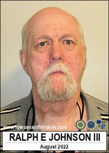 Ralph Edwin Johnson III a registered Sex Offender of Iowa