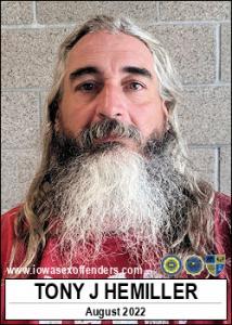 Tony Joe Hemiller a registered Sex Offender of Iowa