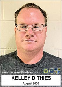 Kelley Dennis Thies a registered Sex Offender of Iowa