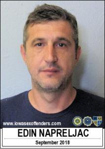 Edin Napreljac a registered Sex Offender of Iowa