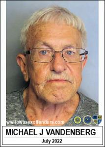 Michael Joseph Vandenberg a registered Sex Offender of Iowa