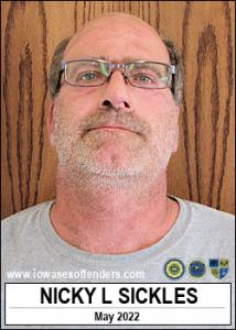 Nicky Lee Sickles a registered Sex Offender of Iowa