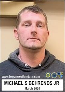 Michael Sherman Behrends Jr a registered Sex Offender of Iowa