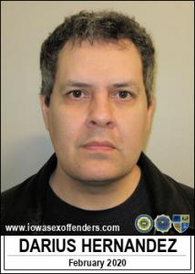 Darius Hernandez a registered Sex Offender of Iowa