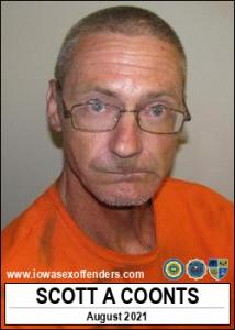 Scott Allan Coonts a registered Sex Offender of Iowa