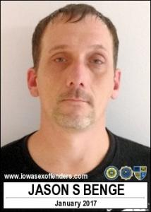 Jason Scott Benge a registered Sex Offender of Iowa