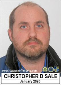 Christopher Duncan Sale a registered Sex Offender of Iowa