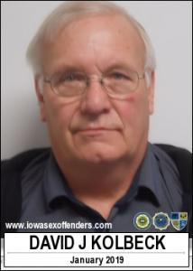 David Jay Kolbeck a registered Sex Offender of Iowa