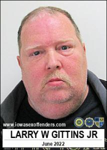 Larry William Gittins Jr a registered Sex Offender of Iowa