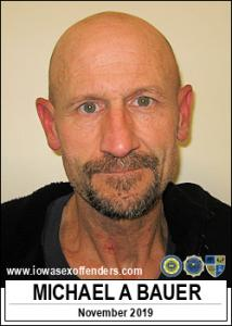 Michael August Bauer a registered Sex Offender of Iowa