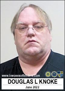 Douglas Lee Knoke a registered Sex Offender of Iowa