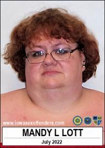 Mandy Lynn Lott a registered Sex Offender of Iowa