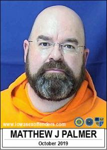 Matthew James Palmer a registered Sex Offender of Iowa
