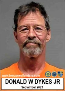 Donald Wayne Dykes Jr a registered Sex Offender of Iowa