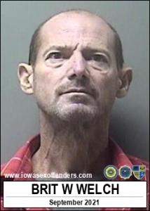 Brit Wayne Welch a registered Sex Offender of Iowa