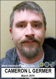 Cameron Lee Germer a registered Sex Offender of Iowa