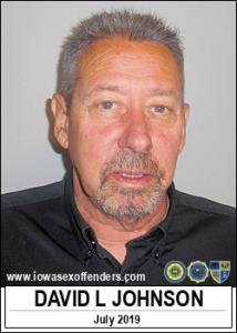 David Lee Johnson a registered Sex Offender of Iowa