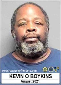 Kevin Onzail Boykins a registered Sex Offender of Iowa