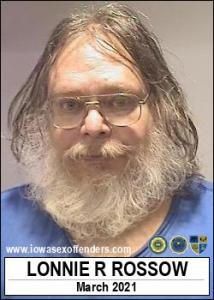 Lonnie Ray Rossow a registered Sex Offender of Iowa