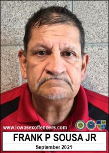 Frank Paul Sousa Jr a registered Sex Offender of Iowa