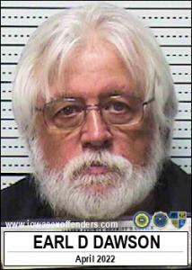 Earl Dean Dawson a registered Sex Offender of Iowa