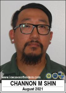 Channon Matthew Shin a registered Sex Offender of Iowa