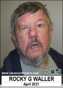 Rocky Gordon Waller a registered Sex Offender of Iowa