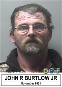John Raymond Burtlow Jr a registered Sex Offender of Iowa