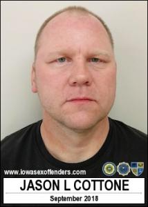 Jason Lee Cottone a registered Sex Offender of Iowa