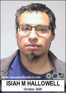 Isiah Moses Hallowell a registered Sex Offender of Iowa