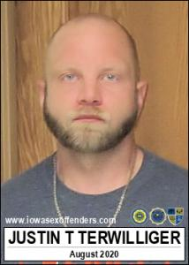 Justin Thomas Terwilliger a registered Sex Offender of Iowa