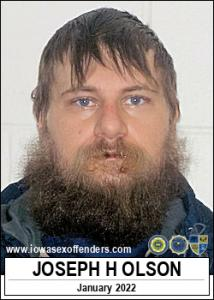 Joseph Harry Olson a registered Sex Offender of Iowa