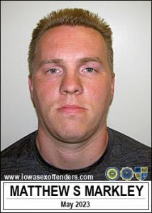 Matthew Steven Markley a registered Sex Offender of Iowa