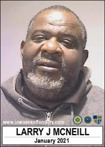 Larry James Mcneill a registered Sex Offender of Iowa