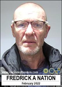 Fredrick Allen Nation a registered Sex Offender of Iowa
