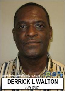 Derrick Lonozo Walton a registered Sex Offender of Iowa