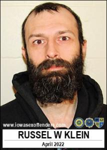 Russel William Klein a registered Sex Offender of Iowa